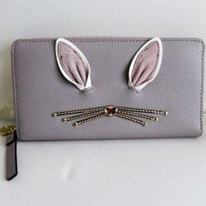 KATE SPADE Rabbit Neda Hop to It Wallet